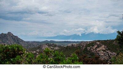 4K, Timelapse, Palasca Region, Corsica