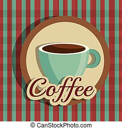 Coffee digital design. - Coffee digital design, vector...