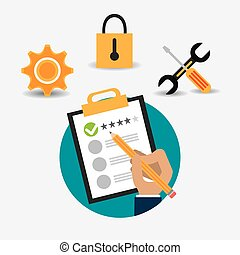Customer design. - Customer digital design, vector...