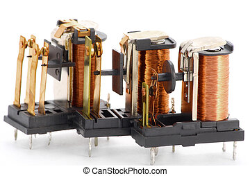The electric switching relay