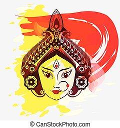 Durga, Saraswati, Lakshmi illustration - Durga, Saraswati,...