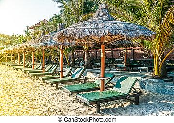 Tropical resort