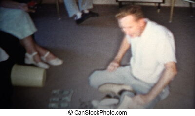 1959 - Man Counting His Drug Money - Original vintage 8mm...