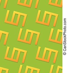 Simple geometric pattern with repeating shapes Seamlessly...