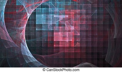 Crystallization. - HD abstract fractal art transformation...