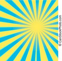 Sun Sunburst Vector illustration