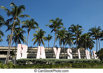 Bayside Marketplace in Downtown Miami, Florida
