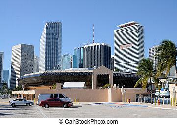 Downtown Miami, Florida USA
