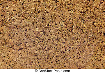 Cork board, Texture of fiberboard from bagasse
