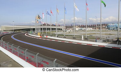 Sochi International Street Circuit. - Sochi, Russia -...