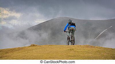 mountain biking in the carpathians