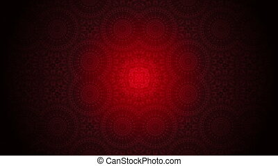 abstract background,Kaleidoscope - Festive red abstract...