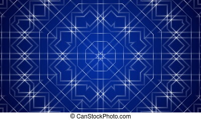 blue loop motion background - abstract blue loop motion...