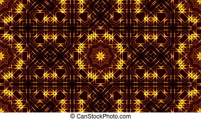 background with crossed lines - golden abstract motion...
