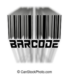 bulk barcode - vector illustration bar code with the volume...