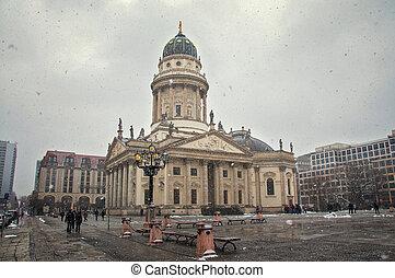gendarmenmarkt square at day in Berlin