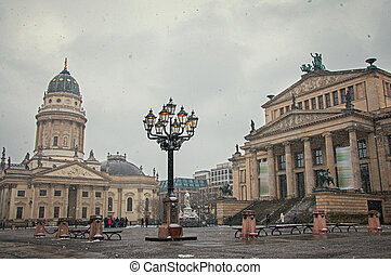 gendarmenmarkt square at day in Berlin