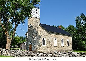 Rural church in Ontario - Rural church