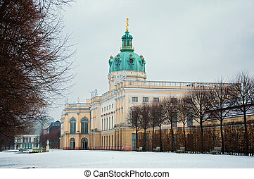 Schloss Charlottenburg in Berlin, Germany