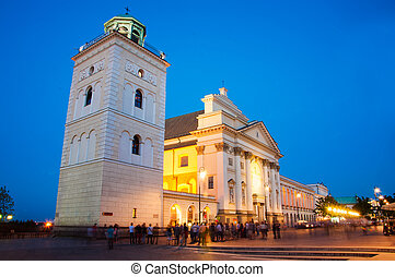 St. Anne's Church in Warsaw