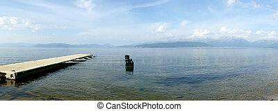 Lake Prespa,Macedonia - Picture of a Lake Prespa,Macedonia ,...