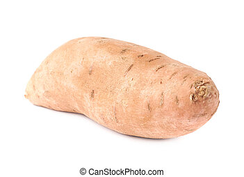 Sweet potato plant isolated - Sweet potato plant or Ipomoea...