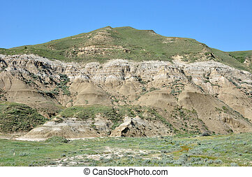 IN THE BADLANDS, DRUMHELLER ALBERTA CANADA