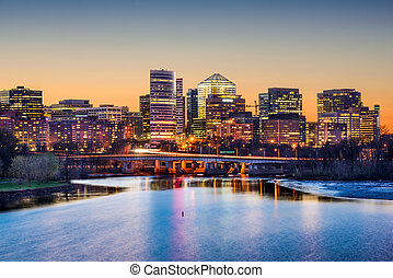 Arlington Financial District - Rosslyn, Arlington, Virginia,...
