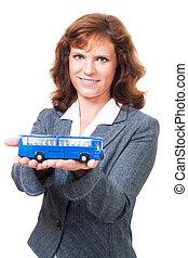 Happy journey on bus