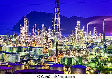 olio, giapponese, Raffinerie