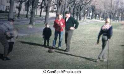 1958 - Holiday Family Football Game - Original vintage 8mm...
