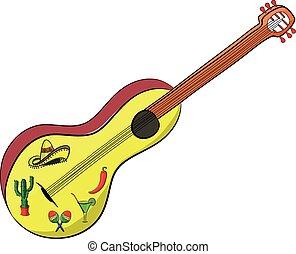 Mexican Guitar Cinco de Mayo