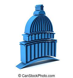 3D Capitol building