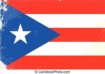 Puerto Rico Flag - The flag of the African country of Puerto...