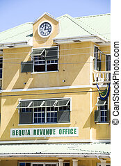 revenue office bequia st. vincent and the grenadines islands...