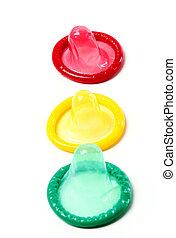 Condones, colorido