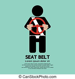 Seat Belt - Seat Belt Vector Illustration