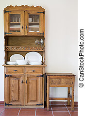 old cupboard - Old and vitage cupboard