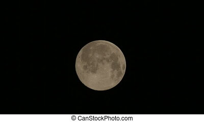 Full Moon in the night sky - Full Moon, taken on 02 July...