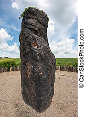 Menhir Stone Shepherd also Stone Man, Petrified Man or...