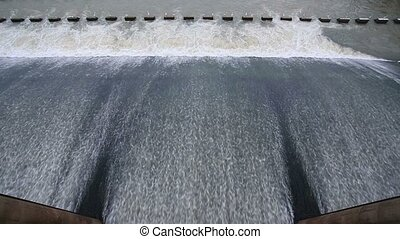 Chao Phraya Dam in Thailand