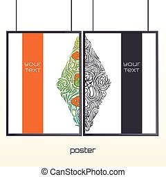 Poster in the Frame Five - Design posters with a color and...