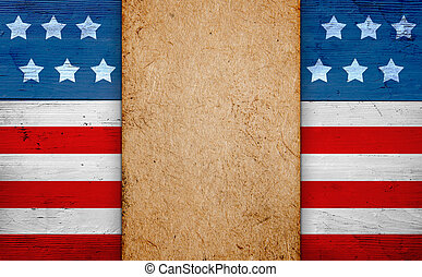 Patriotic american flag background - Patriotic july 4th...