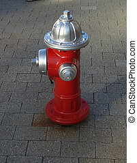 Fire hydrant - fire hydrant on the city street