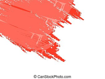 white background and red paint - White background and red...