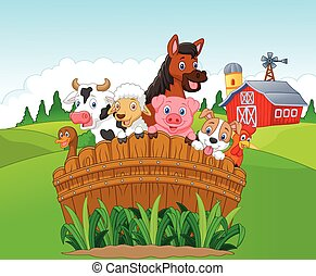 Cartoon Collection farm animals