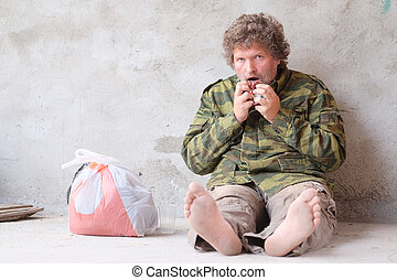 Beggar - The image of beggar