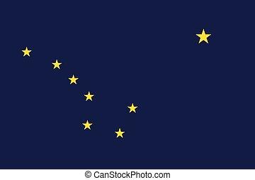 Alaska Flag.