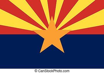 Arizona Flag.