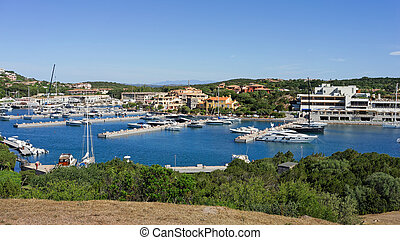 The Marina at Porto Cervo